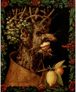 Giuseppe Arcimboldo, Winter, 1573 (oil on canvas)