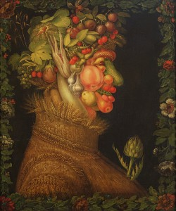 Giuseppe Arcimboldo, Summer, 1573 (oil on canvas)