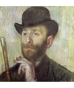Edgar Degas, Zachary Zakarian, c.1885 (pastel on board)