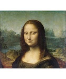 Leonardo da Vinci, Mona Lisa, c.1503-6 (oil on panel) (detail of 3179)