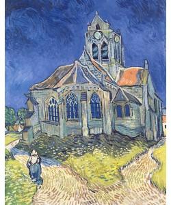 Vincent van Gogh, The Church at Auvers-sur-Oise, 1890 (oil on canvas)