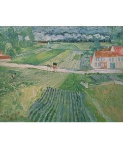 Vincent van Gogh, Landscape at Auvers after the Rain, 1890 (oil on canvas)