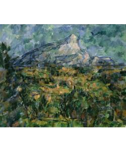 Paul Cézanne, Mont Sainte-Victoire, 1904-05 (oil on canvas)