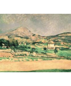 Paul Cézanne, Montagne Sainte-Victoire, c.1882-85 (oil on canvas)