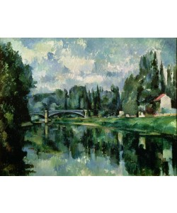 Paul Cézanne, The Banks of the Marne at Creteil, c.1888 (oil on canvas)