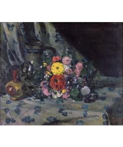 Paul Cézanne, Bouquet of Yellow Dahlias, c.1873 (oil on canvas)