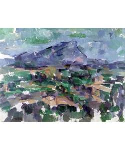 Paul Cézanne, Montagne Sainte-Victoire, 1904-06 (oil on canvas)