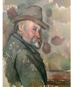 Paul Cézanne, Self Portrait, 1890-94 (oil on canvas)