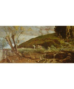 Arnold Bocklin, The Hunt of Diana, 1896 (oil on canvas)
