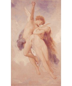 William-Adolphe Bouguereau, Cupid and Psyche, 1889 (oil on canvas)