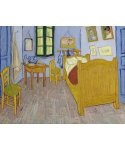 Vincent van Gogh, Van Gogh's Bedroom at Arles, 1889 (oil on canvas)