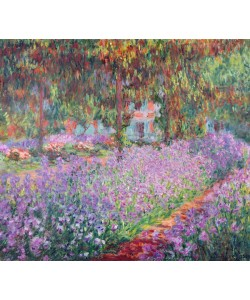 Claude Monet, The Artist's Garden at Giverny, 1900 (oil on canvas)