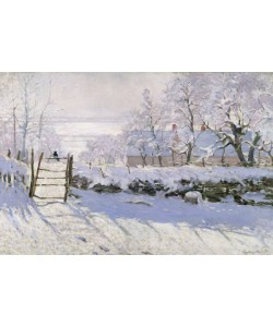Claude Monet, The Magpie, 1869 (oil on canvas)