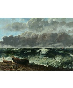 Gustave Courbet, The Stormy Sea or, The Wave, 1870 (oil on canvas)