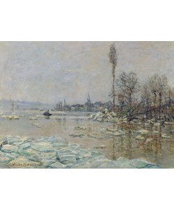 Claude Monet, Breakup of Ice, 1880 (oil on canvas)