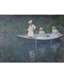 Claude Monet, The Boat at Giverny, c.1887 (oil on canvas)