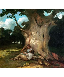 Gustave Courbet, The Large Oak (oil on canvas)