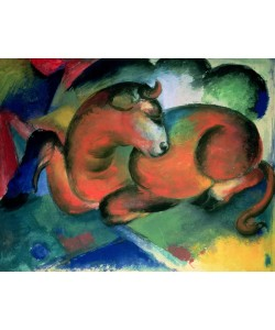 Franz Marc, The Red Bull, 1912 (oil on canvas)