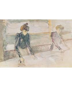 Henri de Toulouse-Lautrec, The Laundresses (oil on canvas)