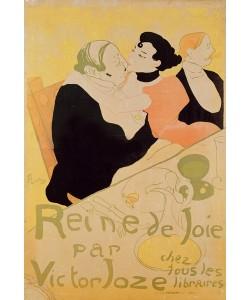 Henri de Toulouse-Lautrec, Queen of Joy, 1892 (colour litho)
