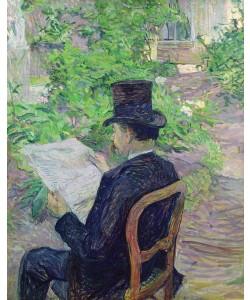 Henri de Toulouse-Lautrec, Monsieur Desire Dihau (1833-99) 1890 (oil on canvas)
