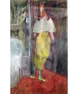 Henri de Toulouse-Lautrec, Woman Entering a Box at the Theatre, 1894 (oil on canvas)