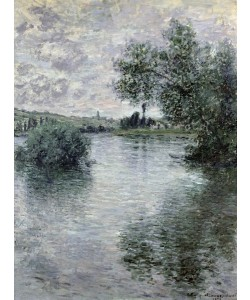 Claude Monet, The Seine at Vetheuil, 1879 (oil on canvas)