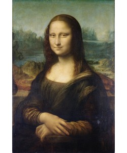 Leonardo da Vinci, Mona Lisa, c.1503-6 (oil on panel)