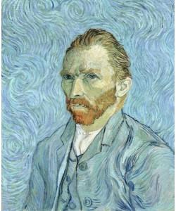 Vincent van Gogh, Self portrait, 1889 (oil on canvas)