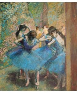 Edgar Degas, Dancers in blue, 1890 (oil on canvas)
