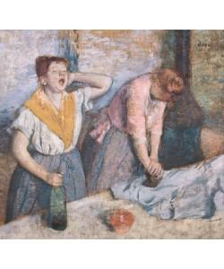 Edgar Degas, The Laundresses, c.1884 (oil on canvas)