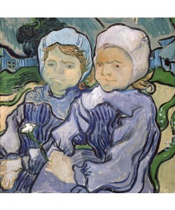 Vincent van Gogh, Two Little Girls, 1890 (oil on canvas)