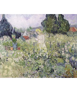Vincent van Gogh, Mademoiselle Gachet in her garden at Auvers-sur-Oise, 1890 (oil on canvas)