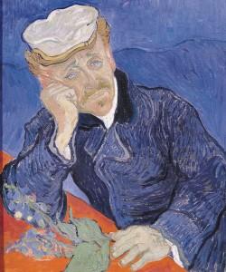Vincent van Gogh, Dr. Paul Gachet, 1890 (oil on canvas)