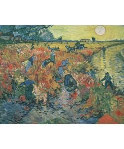 Vincent van Gogh, Red Vineyards at Arles, 1888 (oil on canvas)