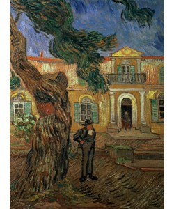 Vincent van Gogh, St. Paul's Hospital, St Remy, 1889 (oil on canvas)