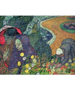 Vincent van Gogh, Ladies of Arles (Memories of the Garden at Etten), 1888 (oil on canvas)