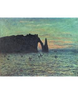 Claude Monet, The Hollow Needle at Etretat, 1883 (oil on canvas)