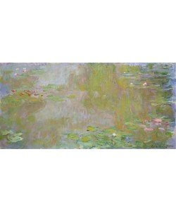 Claude Monet, Waterlilies at Giverny, 1917 (oil on canvas)