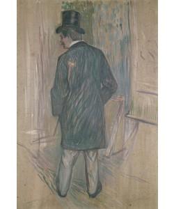 Henri de Toulouse-Lautrec, Mr Fourcade (oil on canvas)