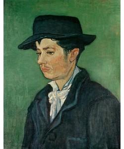 Vincent van Gogh, Portrait of Armand Roulin, 1888 (oil on canvas)