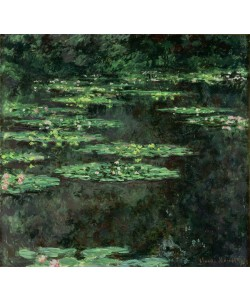Claude Monet, Waterlilies, 1904 (oil on canvas)