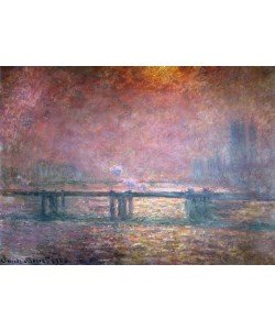 Claude Monet, The Thames at Charing Cross, 1903 (oil on canvas)