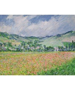 Claude Monet, The Poppy Field near Giverny, 1885 (oil on canvas)