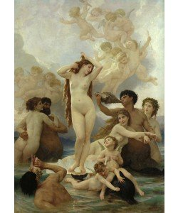 William-Adolphe Bouguereau, The Birth of Venus, 1879 (oil on canvas)