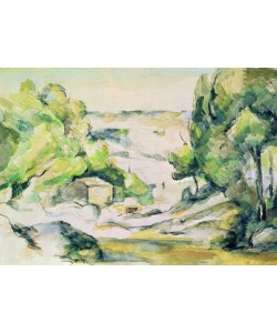 Paul Cézanne, Countryside in Provence (w/c on paper)