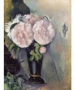 Paul Cézanne, Flowers in a Blue Vase, c.1886 (oil on canvas)