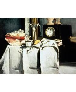 Paul Cezanne, The Black Marble Clock, c.1870 (oil on canvas)