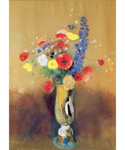 Odilon Redon, Wild flowers in a Long-necked Vase, c.1912 (pastel on paper)