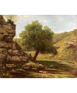Gustave Courbet, Landscape, 1873 (oil on canvas)